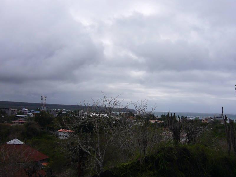 Puerto Ayora en Santa Cruz es la ciudad más grande de las islas.