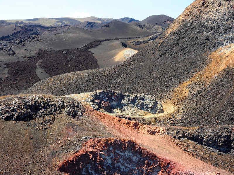 Volcán Chico, Sierra Negra, Isabela.