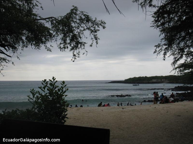 Playa Mann en la tarde.