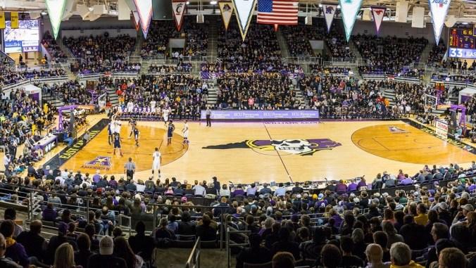 Image result for Minges Coliseum, Greenville, NC