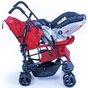 Kinderwagon Hop Tandem Stroller - Best double stroller for twins baby