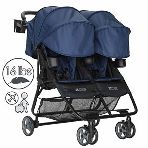 ZOE XL2 DELUXE Double Xtra Lightweight Twin Travel & Everyday Umbrella Stroller System
