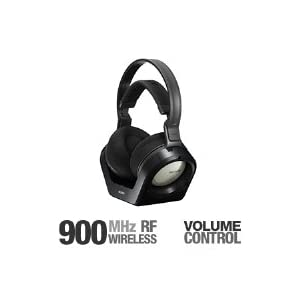 Sony MDR RF925RK 900 MHz Analog RF Wireless Headphone SonyMDRRF925RK027242708259