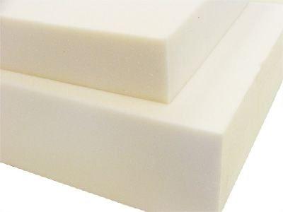 1,8m² 16cm - Schaumstoff-Platte - mittelfester Matratzen Schaum - RG35/40 creme