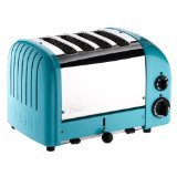 Dualit New Generation 4 Slice Azure Blue Toaster
