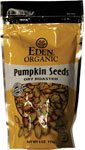 Organic Pumpkin Seeds Dry Roasted Salted Eden Organic 4 oz Seed