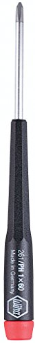 Wiha 26100 Precision Screwdriver, Phillips, 00 x 40mm