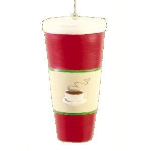 Coffee To Go Christmas Ornament