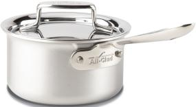 All-Clad d5 Brushed Stainless Steel 1.5-Quart Sauce Pan