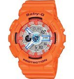 Casio-Baby-G-Orange-Dial-Orange-Resin-Multi-Quartz-Ladies-Watch-BA110SN-4A