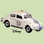 Amazing No. 53 Walt Disney's Herbie, The Love Bug Christmas Ornament