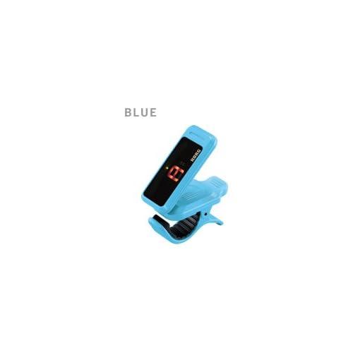 KORG ギター/ベース向けクリップ式チューナー pitchclip PC-1-BL(ブルー/BLUE)