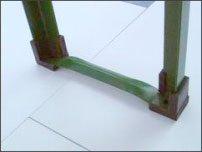 Bodenschoner für Biertischgarnituren