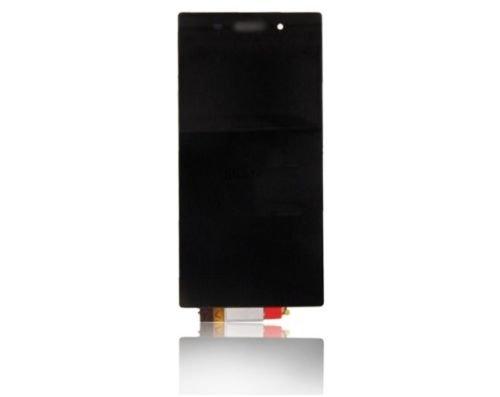 Shinefuture フロントパネル 液晶パネル LCD スクリーン タッチパネル 修理パーツr Sony Xperia Z1 L39h C6902 C6903対応(ブラック)