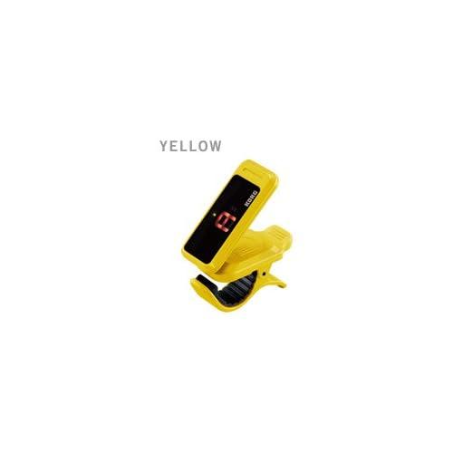 KORG ギター/ベース向けクリップ式チューナー pitchclip PC-1-YE(イエロー/YELLOW)