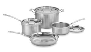 cuisinart multi clad pro stainless steel cookware set
