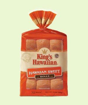 King's Hawaiian Rolls Original Hawaiian Sweet Rolls 12 ct. ( 2 packs