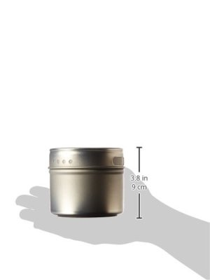 Kamenstein Magnetic Storage Tins Size