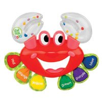 Sassy LeapFrog Baby Curious Crab Rattle