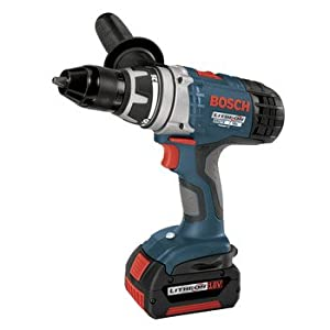 Factory-Reconditioned Bosch 37618-01-RT 18-Volt 1/2-Inch Brute Tough Litheon Drill/Driver