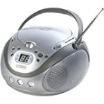 Coby CX-CD241 Portable CD Player with AM/FM Radio (Silver) for $30.42 + Shipping