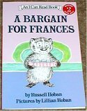 """Cover of """"A Bargain for Frances"""""""