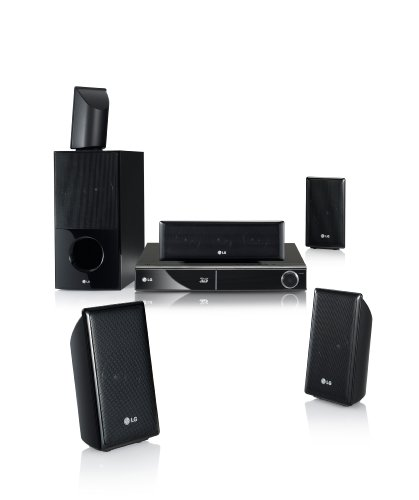 LG HX806SG 3D 5.1 Blu Ray Heimkinosystem (HDMI, DVD) schwarz