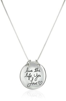 Sterling-Silver-Live-The-Life-You-Love-Reversible-Pendant-Necklace