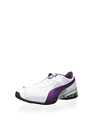 PUMA Women's Cell Turin Perf Sneaker (White/Gray/Violet)