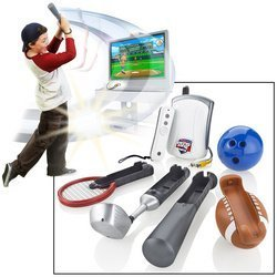 Jakks Pacific Ultimotion Swing Zone Sports Motion Controller Video Game