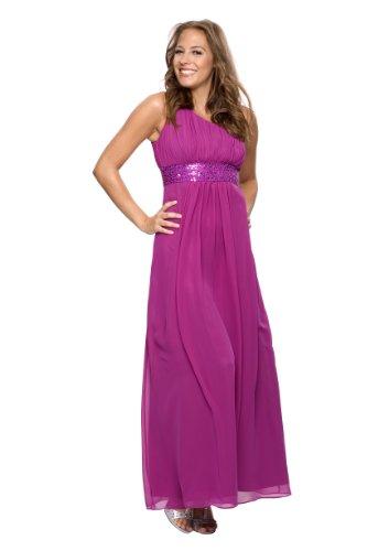 Traumhaftes Abendkleid, Farbe beere, Gr.40 von Astrapahl
