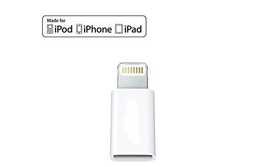Archeer Lighting Adapter ライトニング アダプタ Apple認証【MFI】取得 iPhone 5s/iPhone 6 /iPhone 6s Plus /iPad Air/ iPad mini/ iPod用 ピン ライトニング 変換コネクタ アダプタ