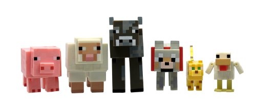Minecraft Animal Toy (6-Pack)