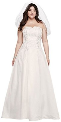 Appliqued-Satin-A-Line-Plus-Size-Wedding-Dress-Style-9OP1262