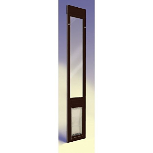 patio pacific thermo panel 3e large with endura flap 77 25 80 25 bronze frame pet door for sliding glass doors adffadsfasfasfa