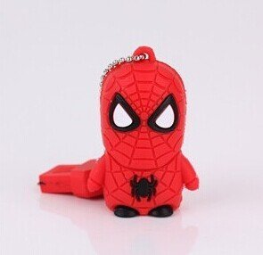 Spiderman Usb flash drive 8g/16g cartoon usb flash drive personalized gift +Gift Box