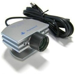 Official Silver Sony EyeToy Camera (PS2) by Sony