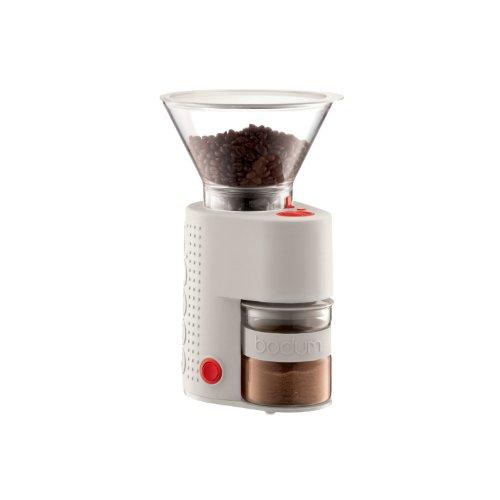 bodum BISTRO 電気式コーヒーグラインダー オフホワイト 10903-913