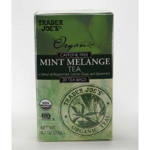 Trader Joe's Organic Caffeine Free Mint Melange Tea (20 Tea Bags)