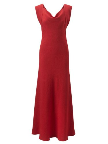 Fever London Abendkleid lang ARVILA rot