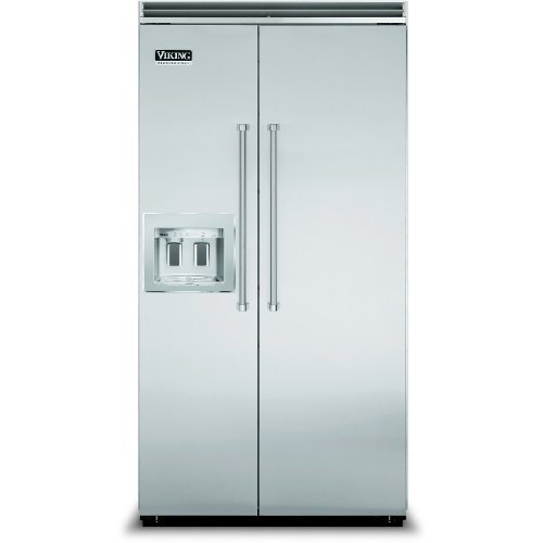 Viking Vcsb5421dsa 42 Inch Side By Side Refrigerator