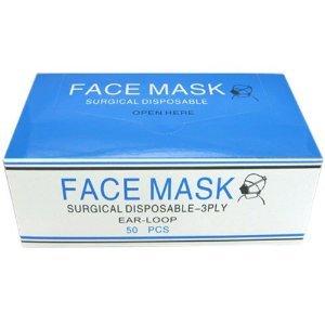 50枚 サージカルマスク 3層構造 花粉症 PM2.5対策 大人用 マスク pm2 5対策