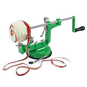 The Apple Machine- Peeler, Corer and Slicer with 2 Bases