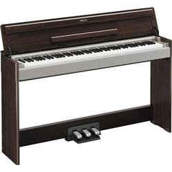 Yamaha YDPS31 Arius Console Piano with Folding Key Cover, 3-Pedal Cabinet