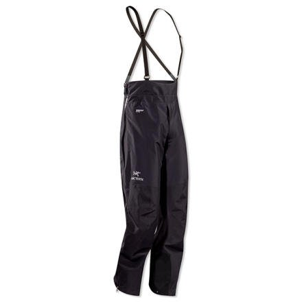Arc'teryx Alpha LT 1/2 Bib Pant - Men's Black, XXL/Reg