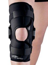 DonJoy Drytex Wraparound Hinged Ligament Knee Brace w/o Cutout - M