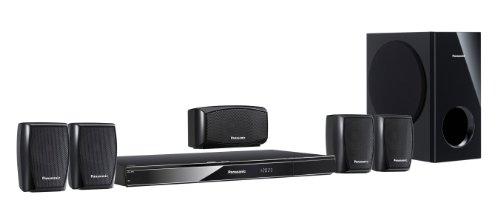Panasonic SC-XH150EG-K 5.1 DVD Heimkinosystem (HDMI, Upscaler 1080p, Scart-Anschluss, USB 2.0) schwarz
