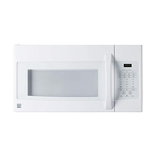 cheap kenmore elite over the range microwave 1 6 cu ft 1000 watts white 85032 buy microwave ovens