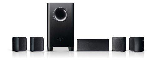 Pioneer HTB-521SP 5.1 Blu-ray Heimkinosystem (3D, HDMI, Upscaler 1080p, DivX-zertifiziert, WLAN Ready, USB 2.0)