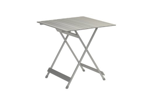 Design Alu Campingtisch klein faltbar klappbar - Aluminium Picknick-Tisch - extra leicht